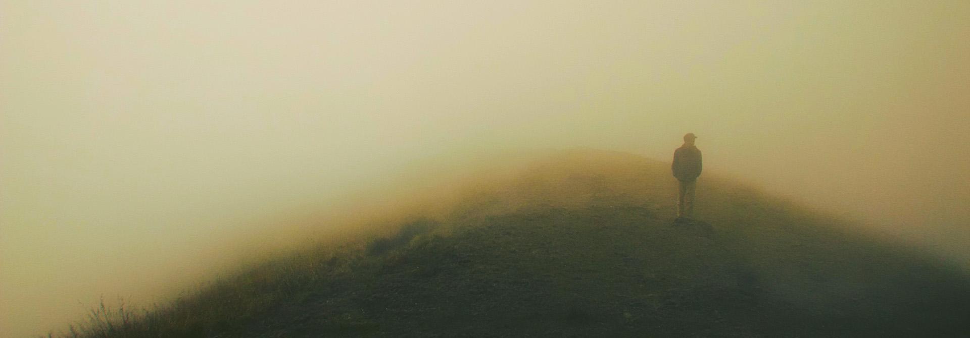 man-in-mist